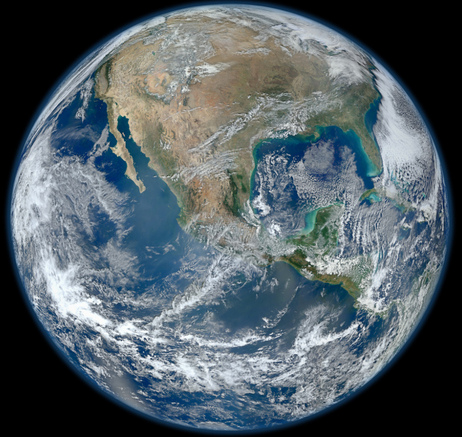 New Earth - The Blue Marble 2012