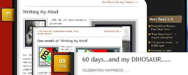 Celebrating 3 months of blogging © gcaffe.com ~The Gappuccino