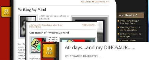 Celebrating 3 months of blogging © gcaffe.com ~The Gappuccino