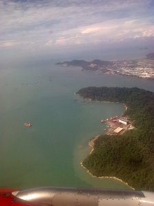 My First View Of Penang