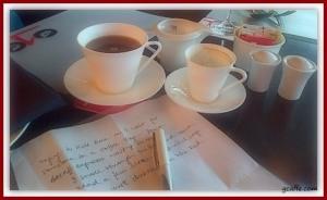 ... & I write.