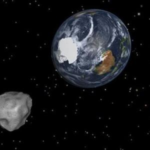 Asteroid Illustration By NASA