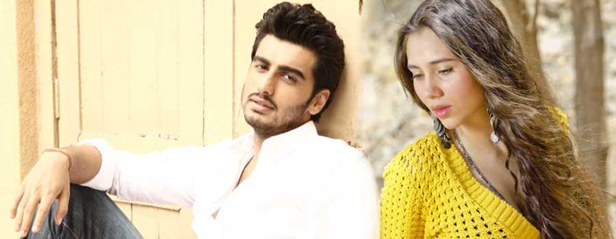 Arjun Kapoor with Sasheh Agha in Aurangzeb