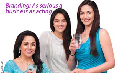 Brand Advertising by Film Stars