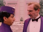 Tony Revelorie and Ralph Fiennes in The Grand Budapest Hotel