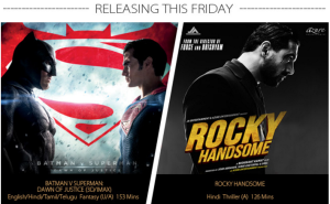 Batman Superman Rocky Handsome