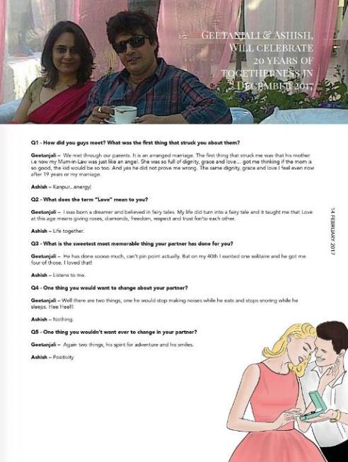 Ashish Kaul Actor Married To Geetanjali Kaul CEO G Caffe