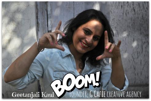 Geetanjali Kaul, G Caffe CEO & Creative Director